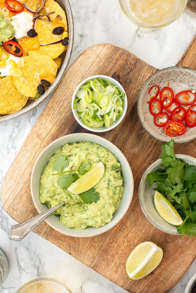 zelf guacamole maken recept
