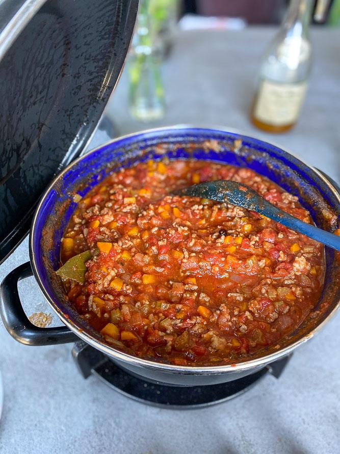 Italiaanse pastasaus met gehakt, ragù, zelf pastasaus maken, traditioneel Italiaans recept