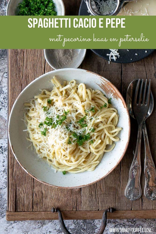 spaghetti cacio e pepe, cacio e pepe, makkelijk pasta recept, klassieke pasta recepten, spaghetti recepten, spaghetti met kaas #spaghetti #recept