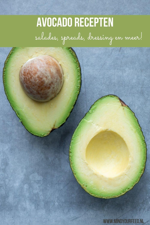 avocado recepten, recepten met avocado, avocado gezond, avocado salade, avocado smoothie, avocado dressing