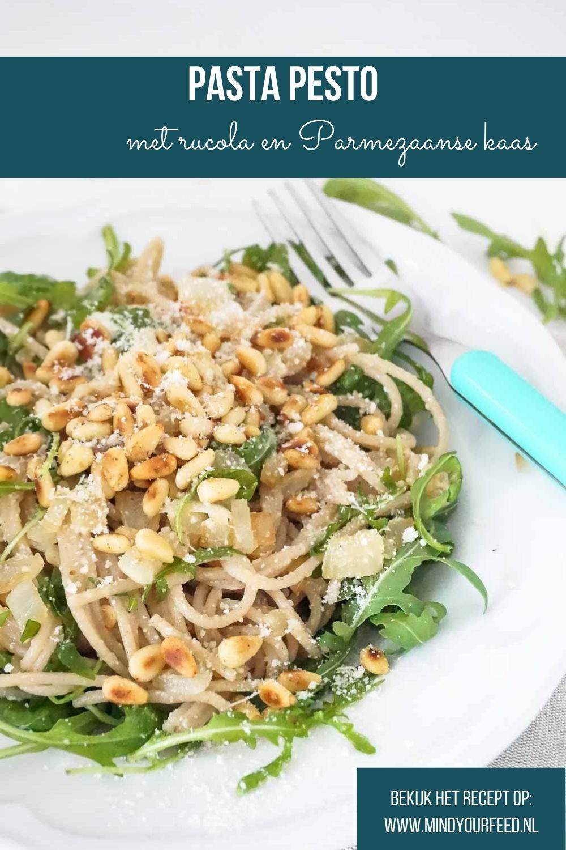 pasta pesto, snel recept voor makkelijke pasta met pesto smaken