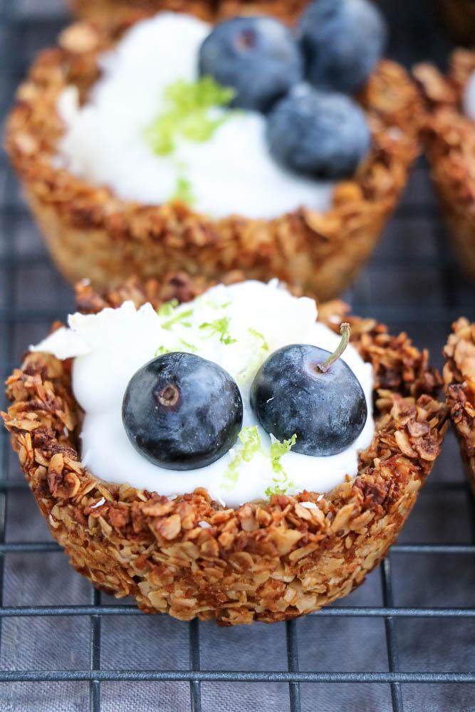havermout ontbijt recept, havermout muffins