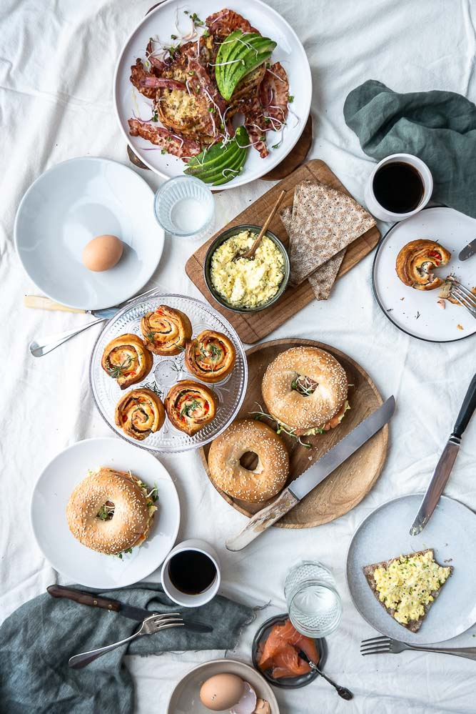 recepten voor Pasen, paasontbijt, paasbrunch, wat eten we met pasen, voorgerechten, hoofdgerechten, hartige taarten, zoete broodjes
