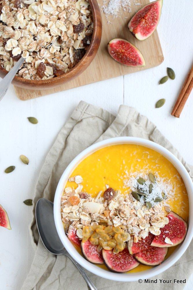 pompoen smoothie bowl