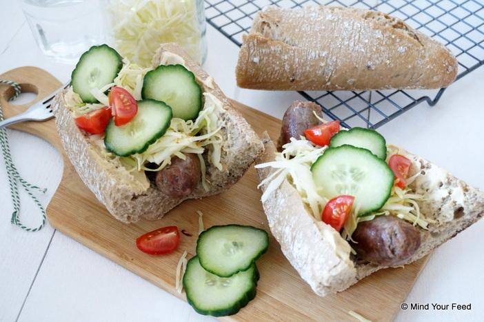Broodje braadworst