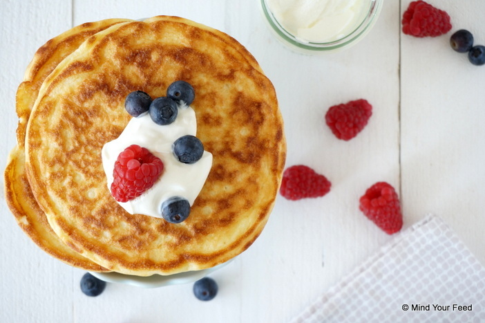 Yoghurt pannenkoekjes