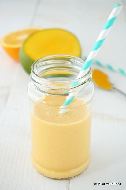 pompoen mango smoothie