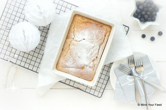 oven pannenkoek met appel en kaneel