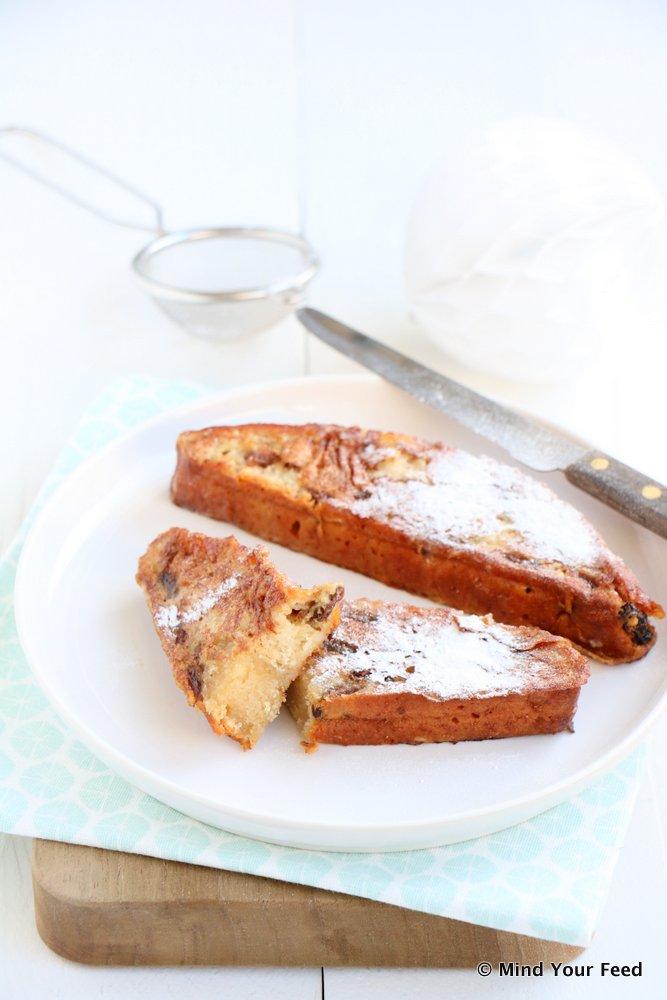 wentelteefjes van kerstbrood, kerstbrood, kerstbrood recept, oud kerstbrood opmaken, kerststol, feeststol, kerstbrood recepten