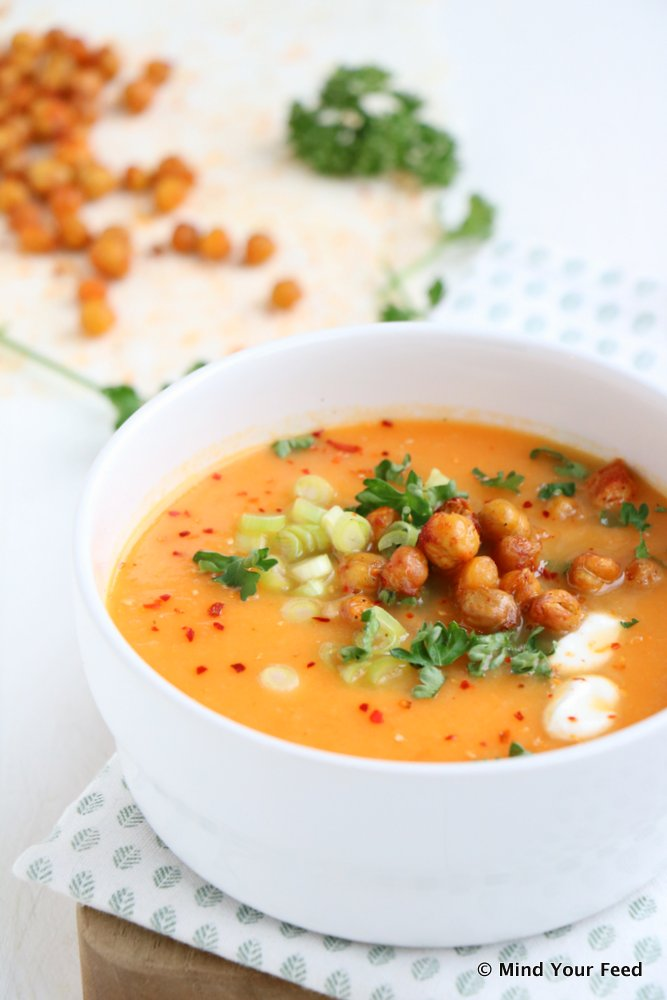 wortel tomatensoep